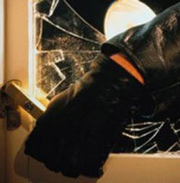 Thieves Outwit Alarm Systems