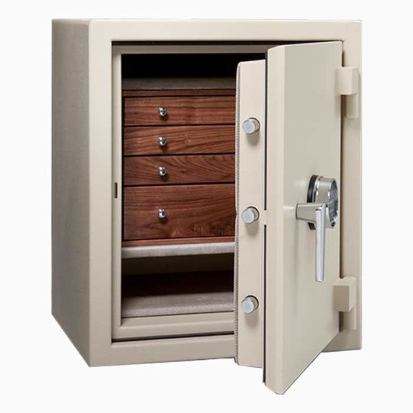 CASORO C21 – SMALL JEWELRY SAFE WITH DRAWERS