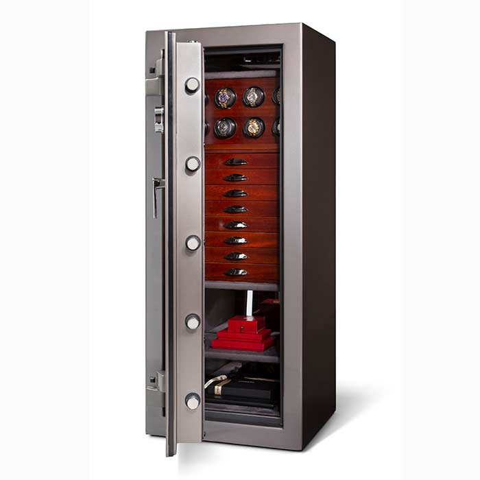 Casoro Emerald Jewelry Safe with Drawers for Your Home