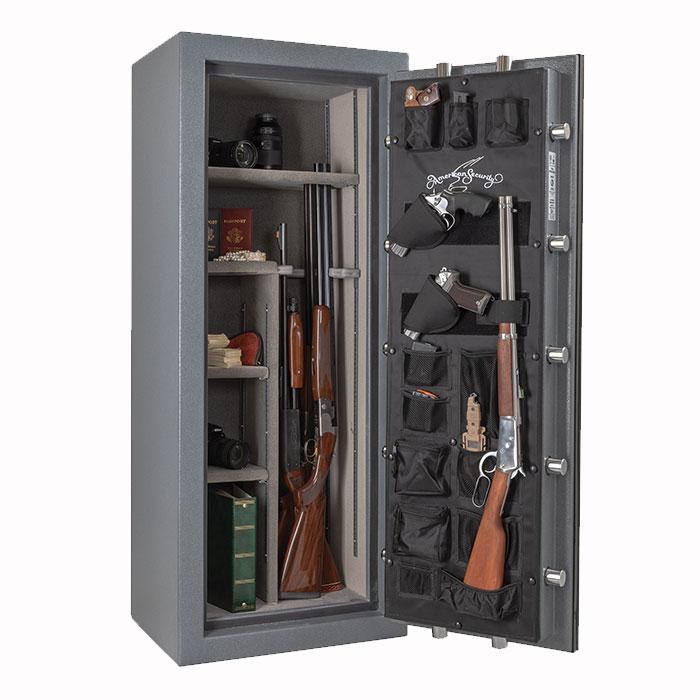 NF5924E5 Gun Safe Interior for 17 Long Guns