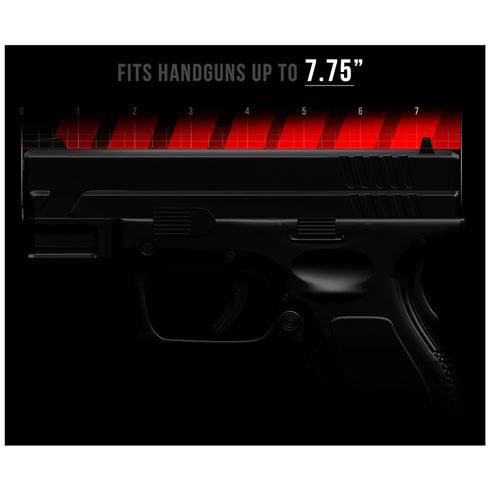 Vaultek LifePod Gun Size