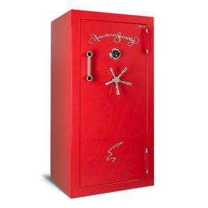 AMSEC BFX6030 Gun Safe in Rossa Cursa Red