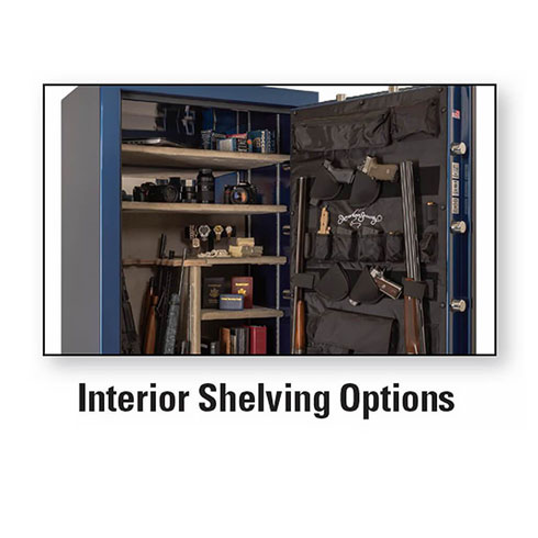 AMSEC BFX Interior Shelving Options