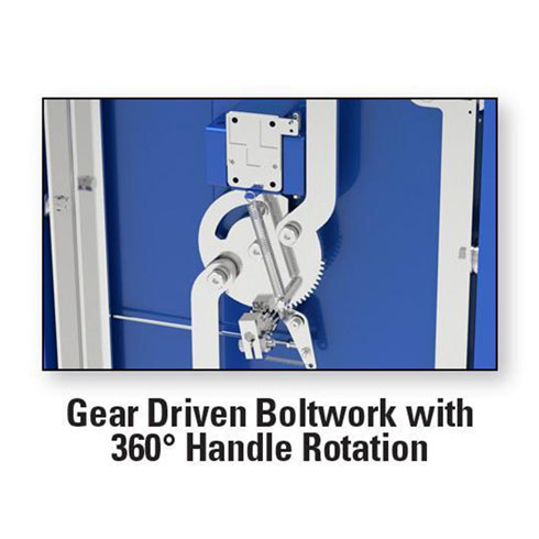 AMSEC BFX Series Gear Driven Boltwork with 360 Handle Rotation