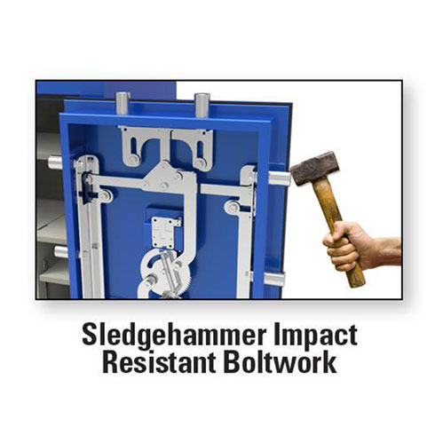 AMSEC BFX Sledgehammer Impact Resistant Boltwork