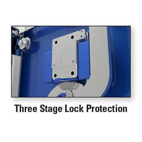 AMSEC BFX Gun Safe Series Three Stock Lock Protection