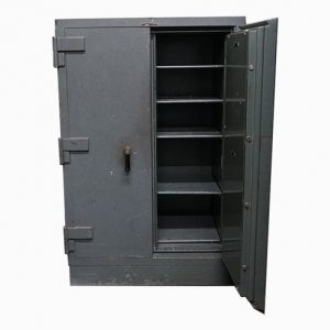Used Classic Double Door Fire Safe on Wheels