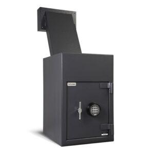 DSR2516E2 Reverse Loading, Thru The Wall Depository Safe