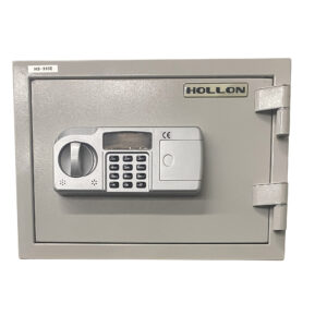 Hallon HS-310E home safe Exterior - Fireproof up to 2 hours - Digital electronic lock - Used in good condition